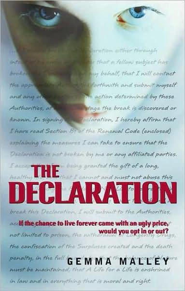 the declaration gemma malley pdf