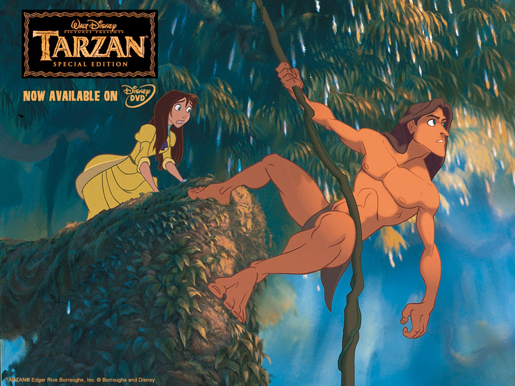 Tarzan and Jane Cartoon