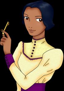 Jaclyn Dolamore's Illustration of Nimira