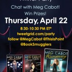 Meg Cabot Twitter Party Giveaway Winners