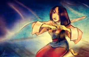 Amazing Art Mulan