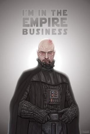 Darth Heisenberg (star wars breaking bad)
