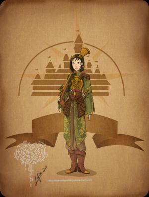 Mulan Steampunk