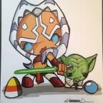 Ahsoka & Yoda