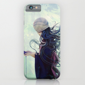 In Her Head In Her Eyes Society6 iPhone Case