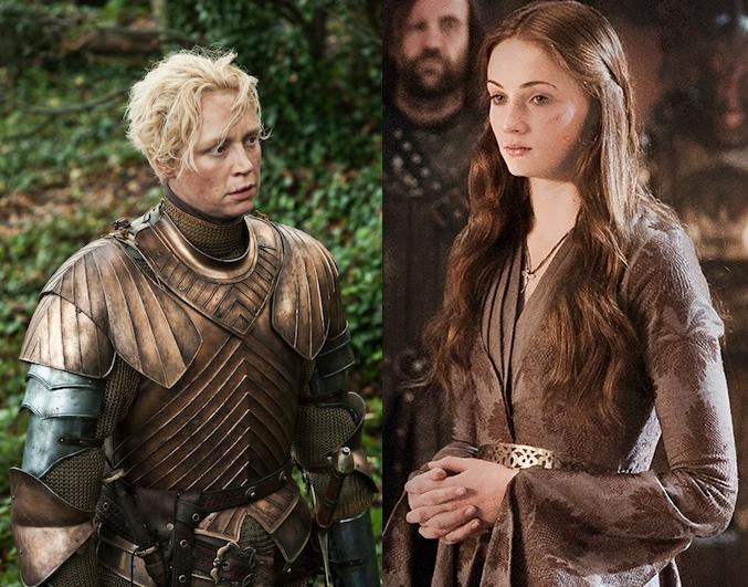 Sansa and Brienne