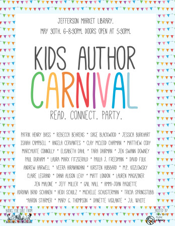 Kids Author Carnival 2015