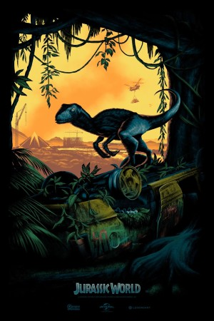 Jurassic World (SDCC) by Taco Belvedere