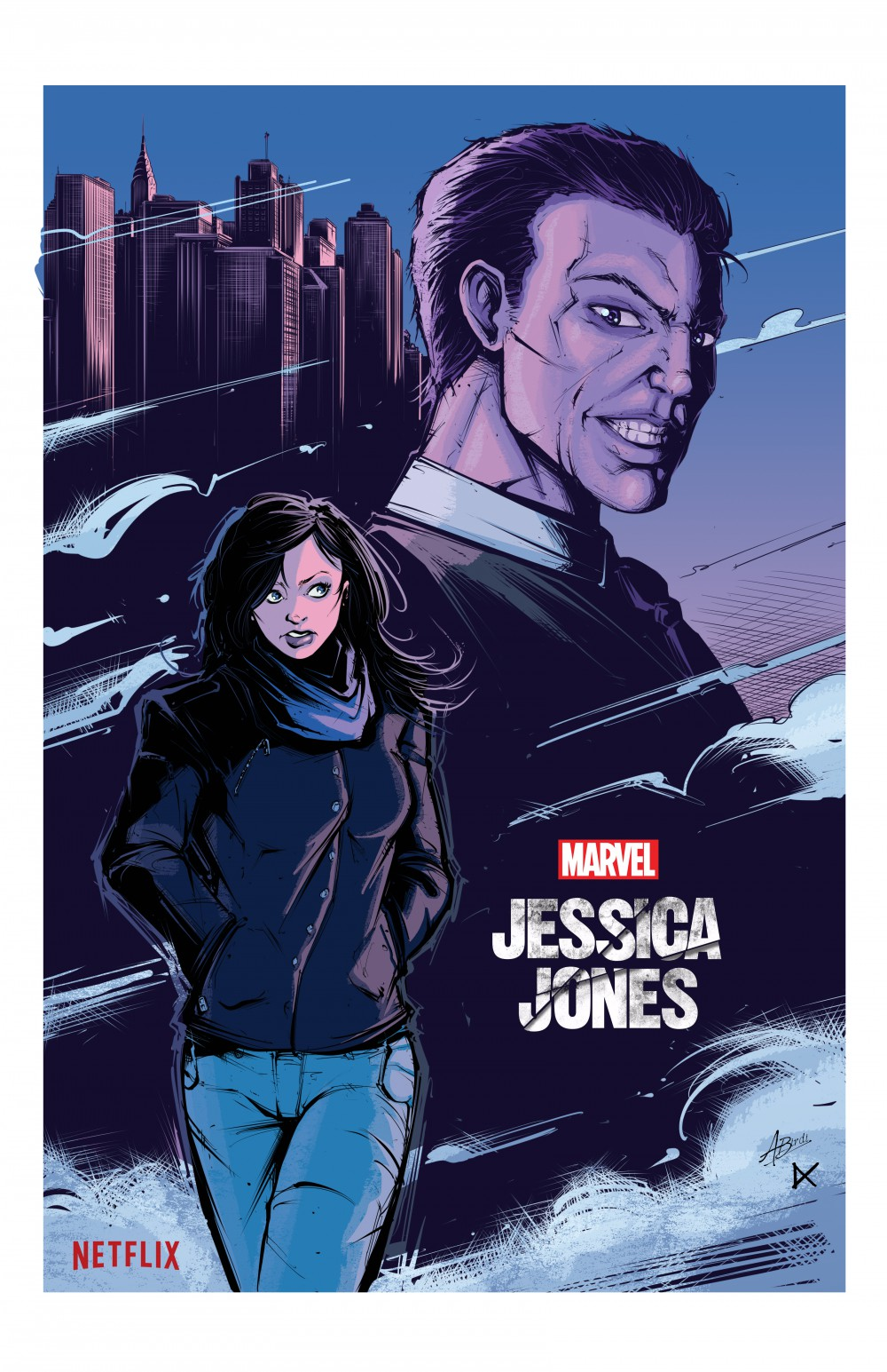 Jessica Jones Fan Poster