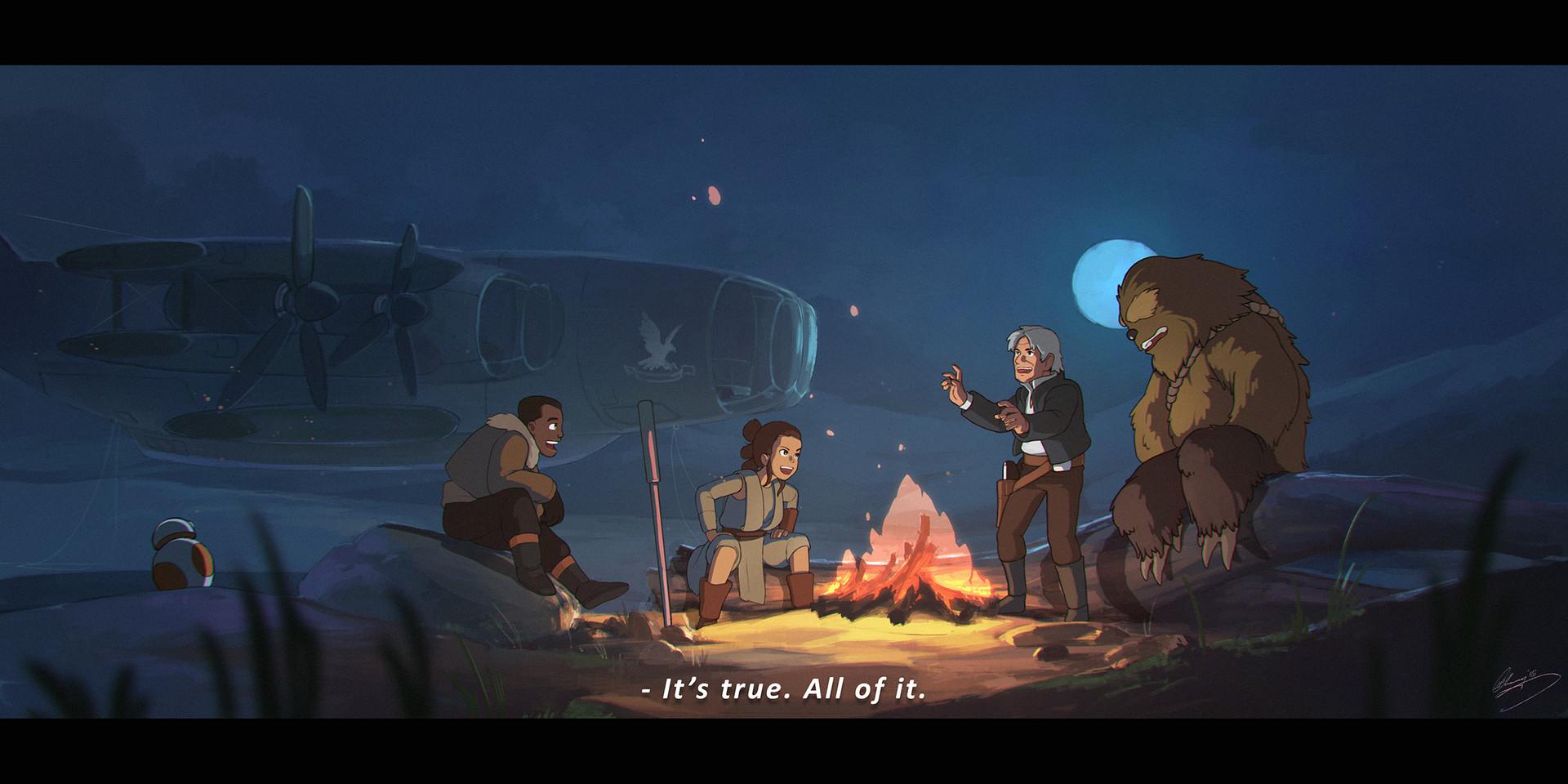 Star Wars vs. Studio Ghibli by Lap Pun Cheung